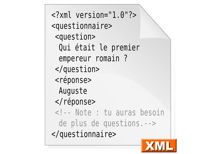 ficher au format xml   qu u0026 39 est ce que c u0026 39 est et comment l u0026 39 ouvrir