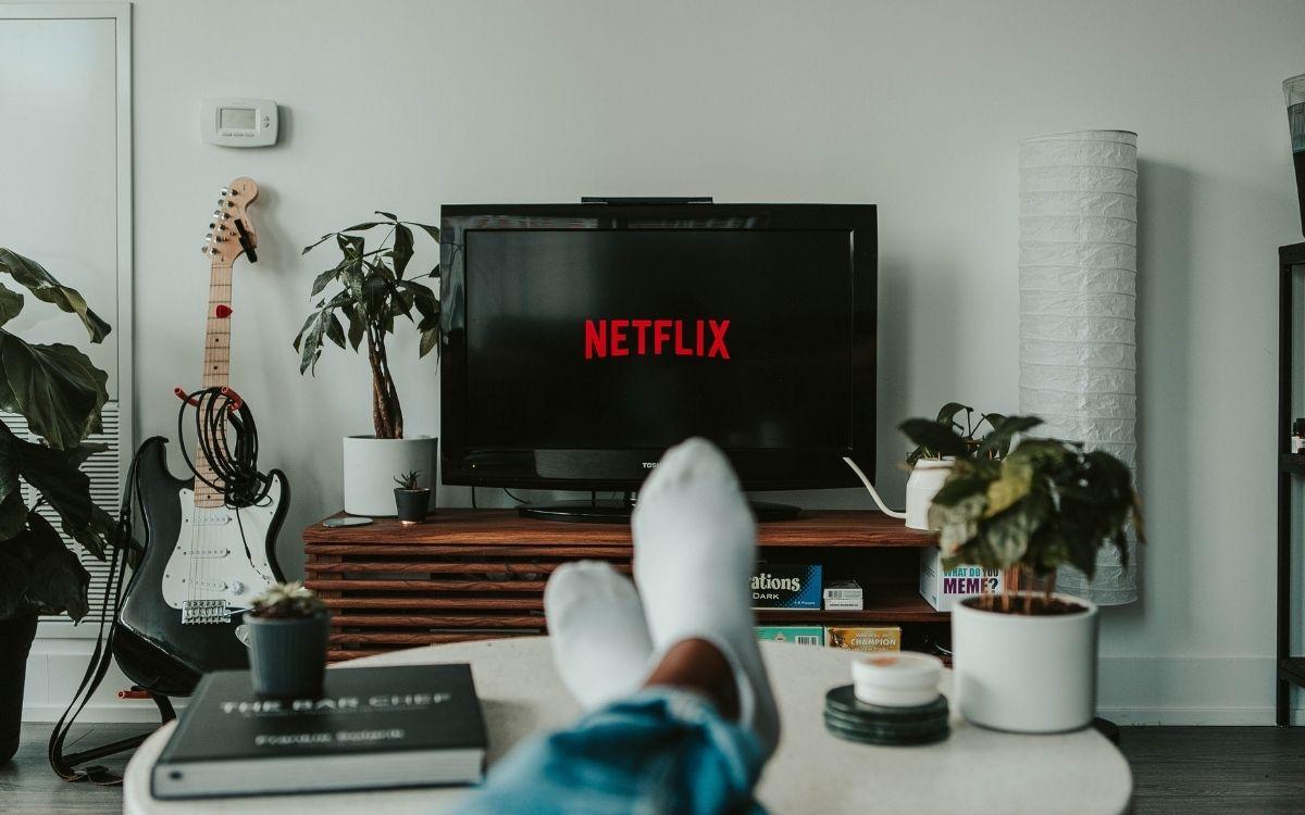 Netflix, nouveautés du mois (image libre de droits)