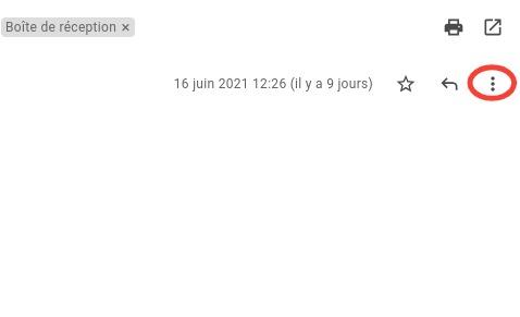 Gmail: block an address