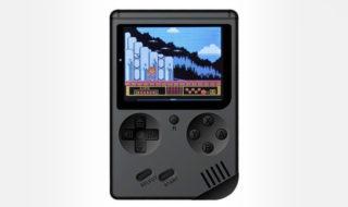 Bon plan : mini console rétro émulateur (168 jeux intégrés) à 12,60 euros