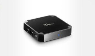 Bon plan : Box TV Android 4K X96 Mini à 24,60 euros
