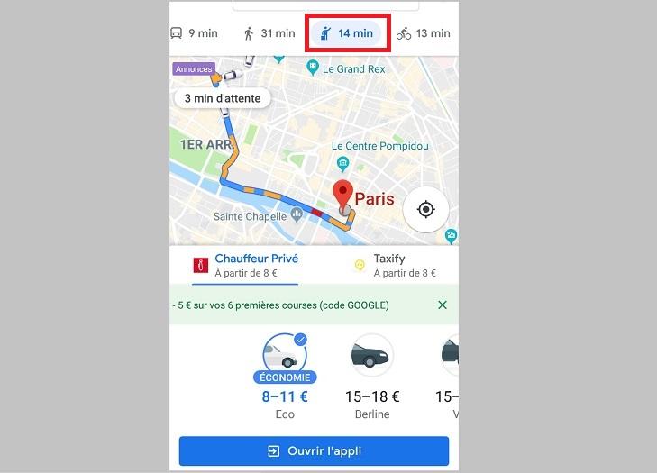VTC Google Maps