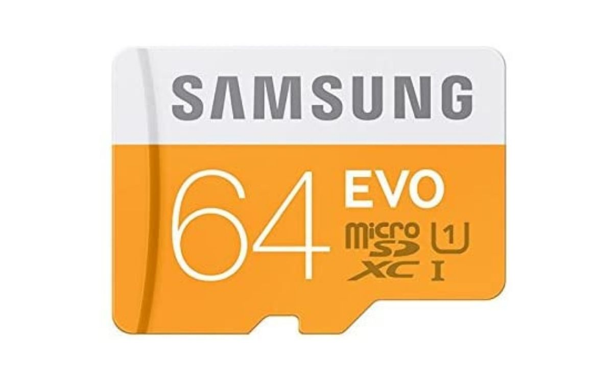 Carte mémoire Samsung SDXC UHS-I EVO Micro SD Classe 10 64 Go