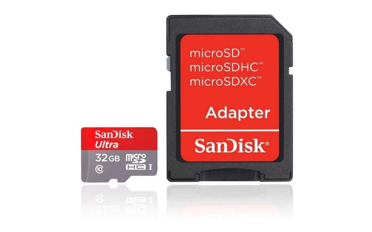 Carte mémoire microSDHC SanDisk Ultra 32GB