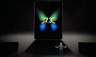 Samsung Galaxy Fold : le smartphone pliable est officiel, vendu au prix de 1980 dollars