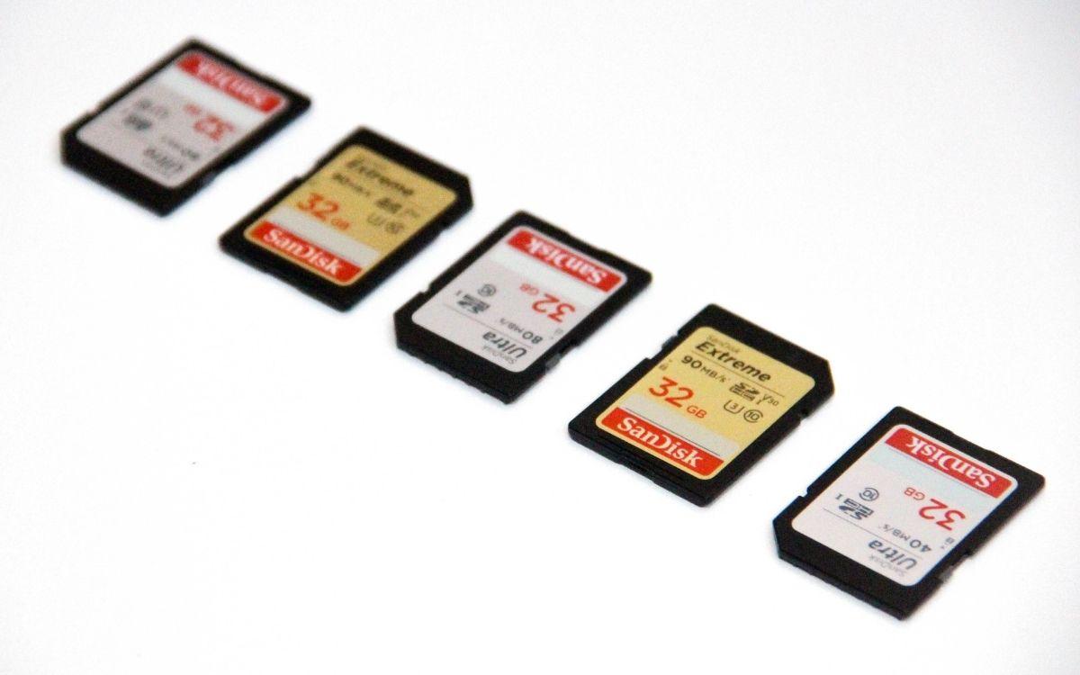 Meilleurs cartes mémoires SD