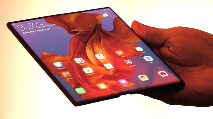 Huawei Mate X écran