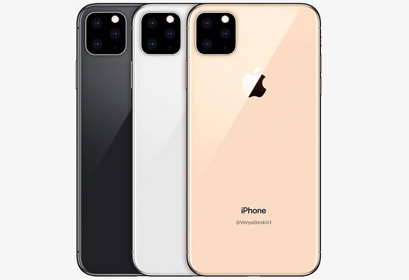 Premier rendu de l'iPhone 11