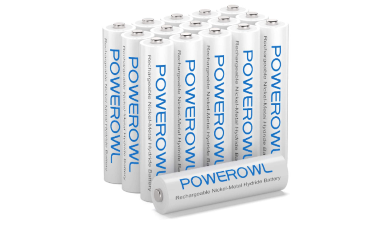 Piles rechargeables Powerowl
