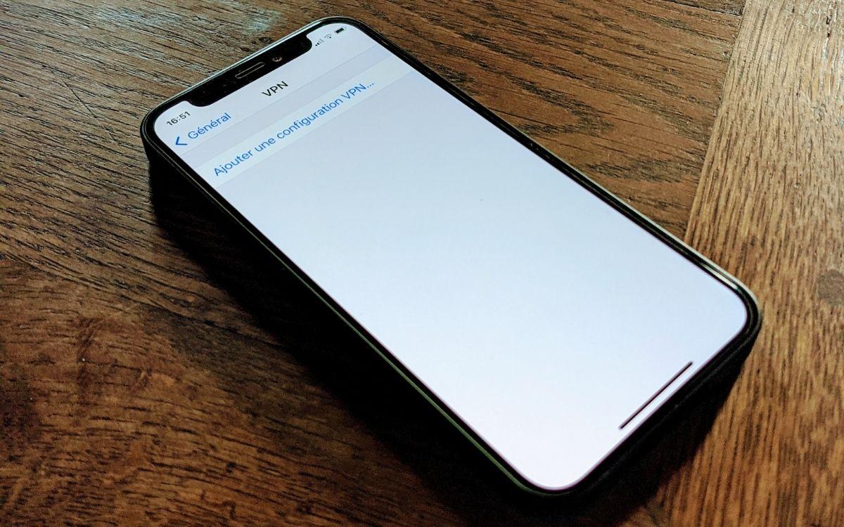 Comment configurer un VPN sur iPhone. Image Papergeek