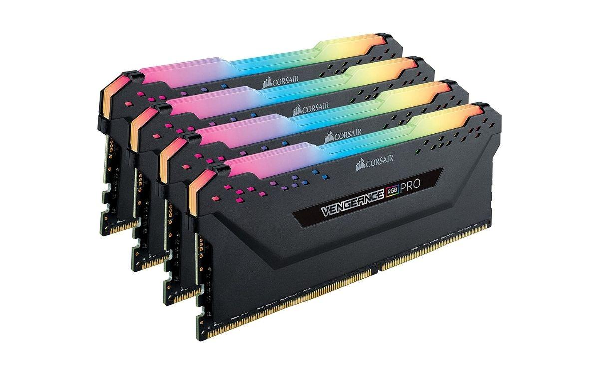 Mémoire vive Corsair Vengeance RGB PRO, DDR4, 32 Go, 3200 MHz, CL16