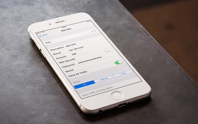 Comment configurer un VPn sur iPhone