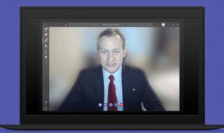 Flouter l'arrière-plan Skype