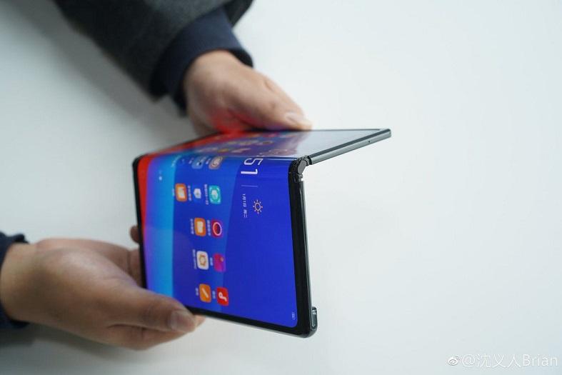 Smartphone pliable Oppo