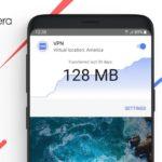 VPN Opera sur Android