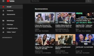 YouTube : comment activer le mode sombre