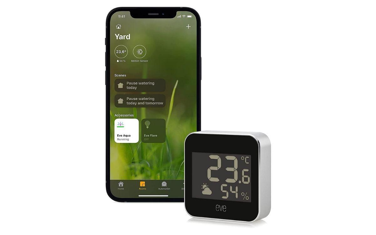 Eve Weather - Station météo connectée avec technologie Apple HomeKit