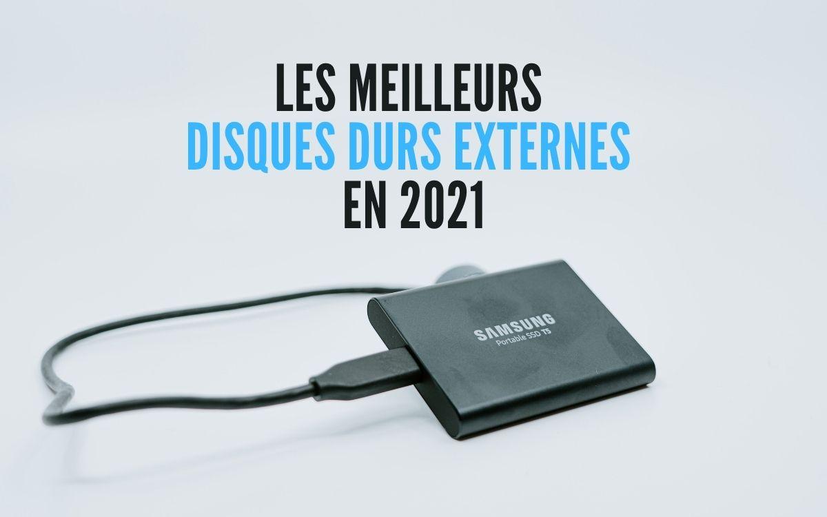 Meilleurs disques durs externes 2021