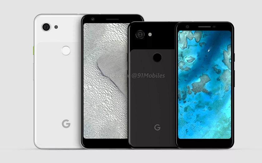Google Pixel 3a et Pixel 3a XL