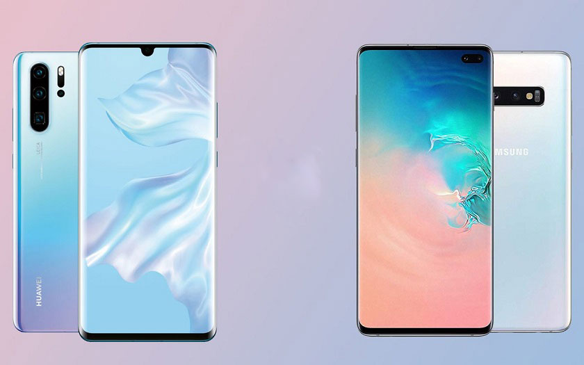Huawei P30 Pro vs Galaxy S10+