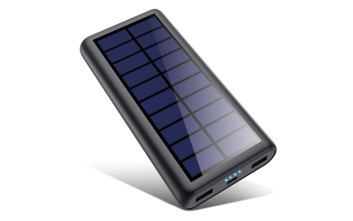 Batterie externe solaire HETP