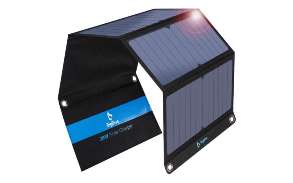 Chargeur solaire Big Blue