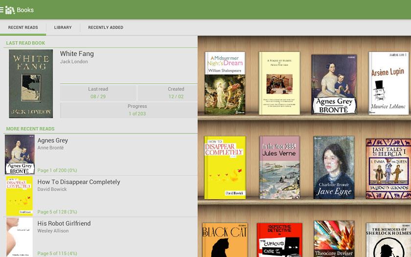 Les meilleures applications de lecture d'ebooks