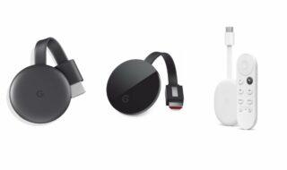 Chromecast avec Google TV, Chromecast Ultra, Chromecast 3 : quelles différences et lequel choisir ?