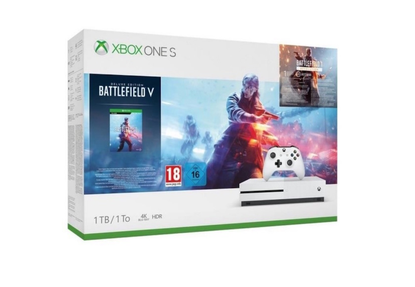 Xbox One S 1 To Battlefield V à 199,99 €