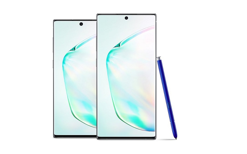 Les Samsung Galaxy Note 10 et Note 10+