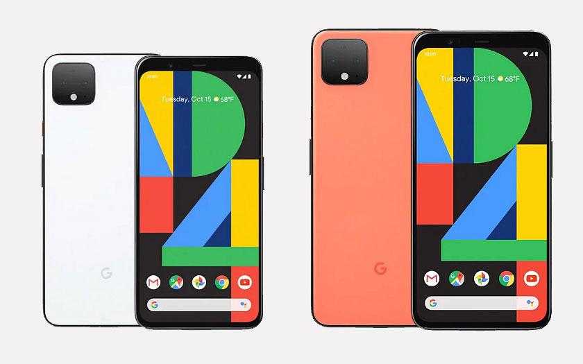 Google Pixel 4 et 4 XL