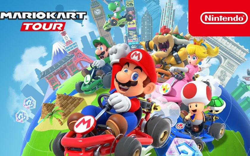 Mario Kart Tour sur Android et iOS