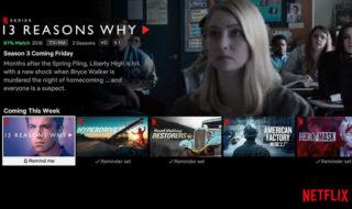 Netflix facilite la découverte des nouveautés et notifie les sorties qui vous intéressent