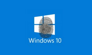 Windows 10 : comment configurer un capteur d'empreintes digitales