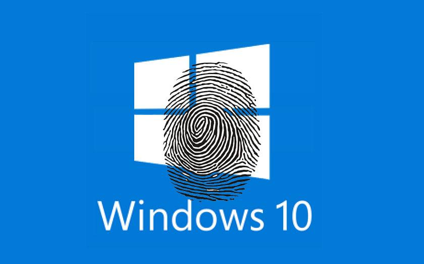 Empreintes digitales Windows 10