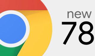 Chrome 78 est disponible au téléchargement : voici les nouveautés