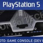 Le kit de développement de la PS5 en photo