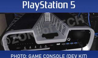 PS5 : le kit de développement se montre pour la première fois en photo