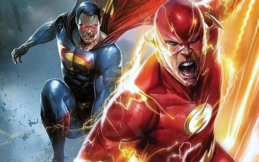 Superman vs Flash : course