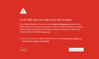 Zone-Téléchargement est désormais bloqué par Google Chrome