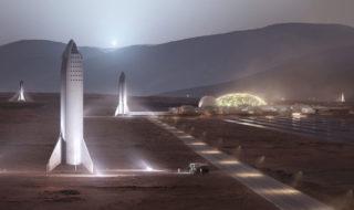 Elon Musk : il faudra 20 ans et 1000 voyages pour construire la première ville sur Mars