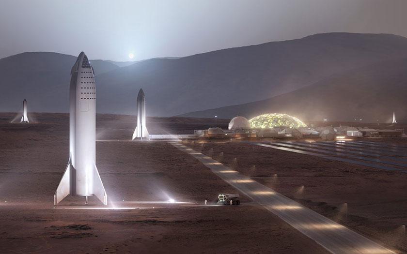 Elon Musk : première ville sur Mars