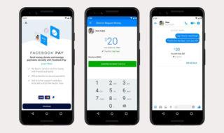 Facebook Pay permet d'envoyer et de recevoir de l'argent sur Messenger, WhatsApp et Instagram