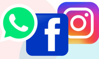 Facebook, WhatsApp et Instagram
