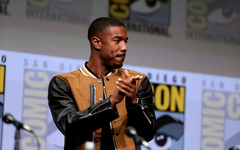 Michael B. Jordan Superman