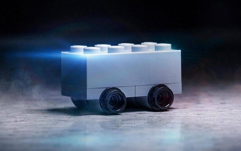 Tesla Cybertruck en Lego