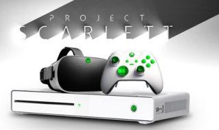Xbox Scarlett : la future console de Microsoft arrivera juste avant la PS5