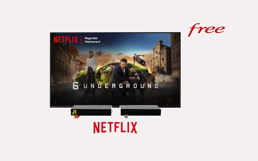 Netflix débarque sur la Freebox Revolution