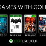 Xbox Games With Gold. Les jeux gratuits de janvier 2020