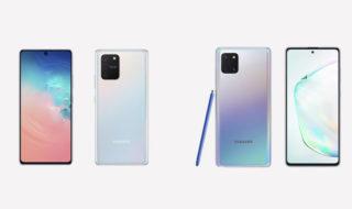 Samsung Galaxy Note 10 Lite et S10 Lite : fiche technique, prix et disponibilité